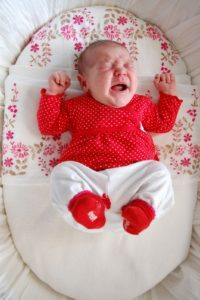 Zichtbare emoties bij baby